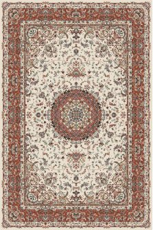 Ковер из Ирана Super Tabriz №75005-cream