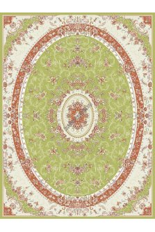 Ковер из Ирана Super Tabriz №75112Green